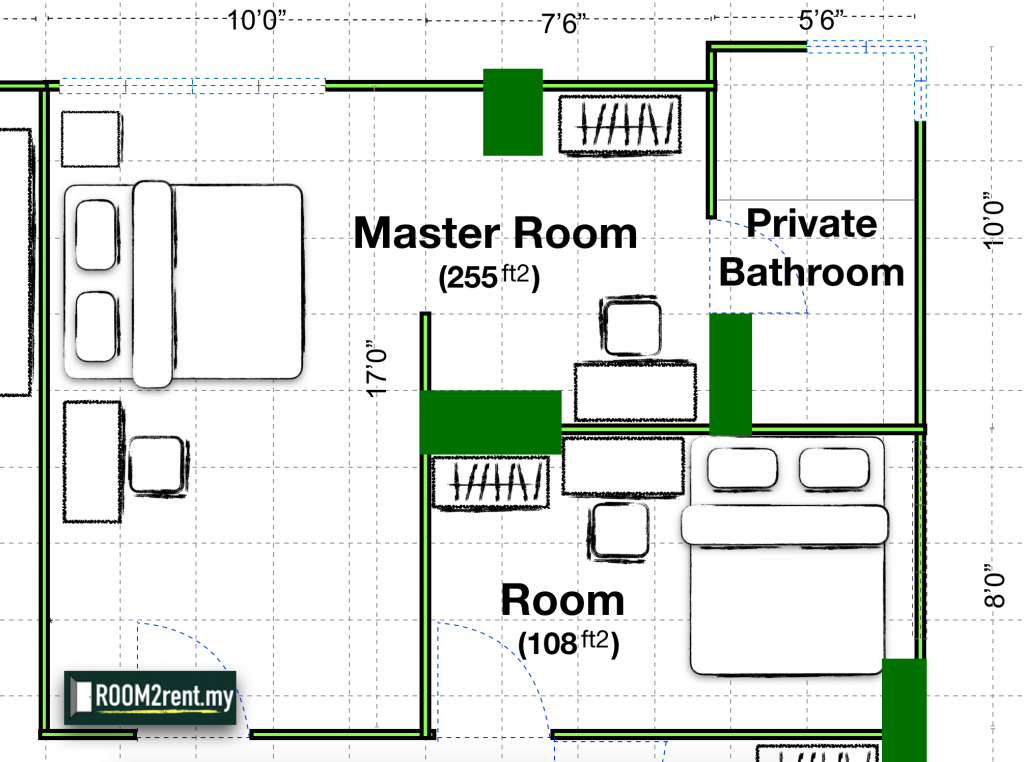 looking for a room to rent